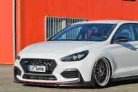 Cup Frontspoilerlippe für Hyundai I30N + Performance Fastback ab Bj.2017-