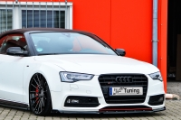 Cup Frontspoilerlippe mit Wing für Audi A5 B8 Facelift S-Line ab Bj. 2011-2017